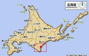 北海道 広尾町地図